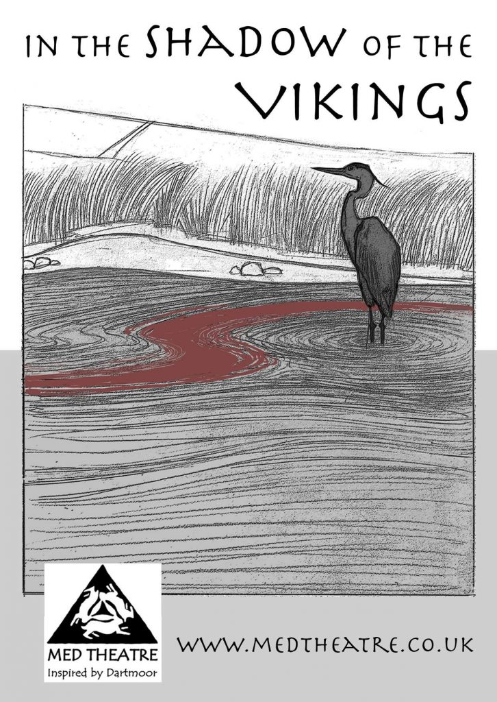 vikings postcard ancient in the shadow history