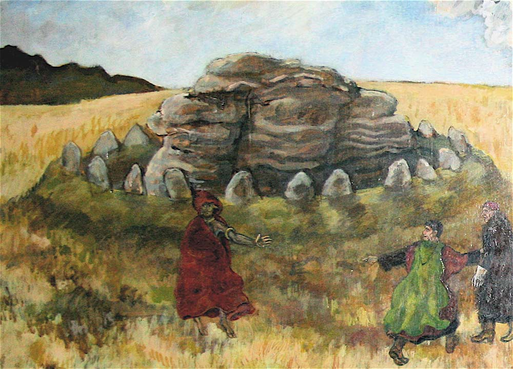 other myths dartmoor painting folklore