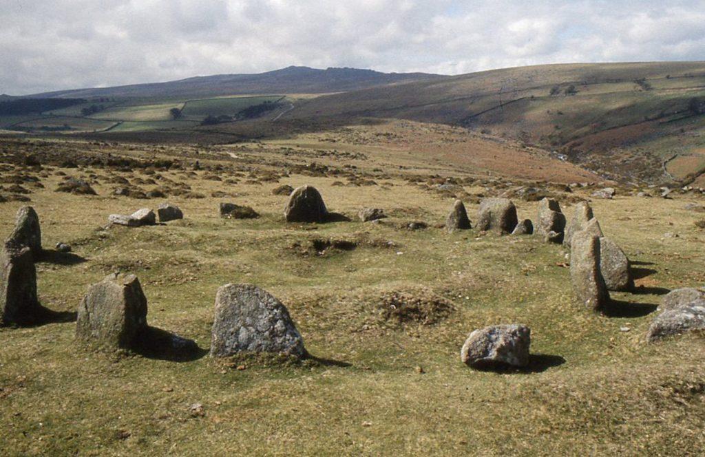 nine maidens stone circle dance belstone
